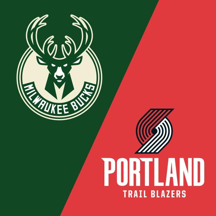 More Info for Milwaukee Bucks vs. Portland Trail Blazers