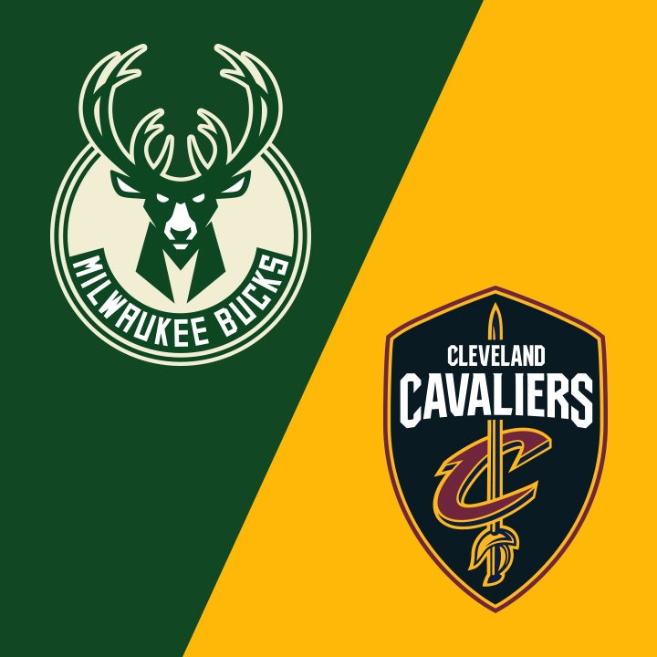 More Info for Milwaukee Bucks vs. Cleveland Cavaliers