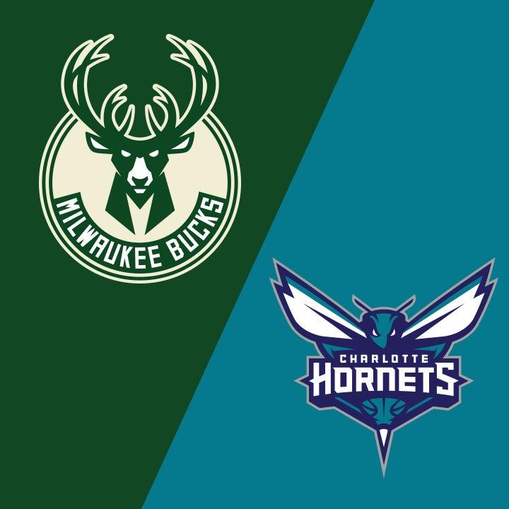 More Info for Milwaukee Bucks vs. Charlotte Hornets