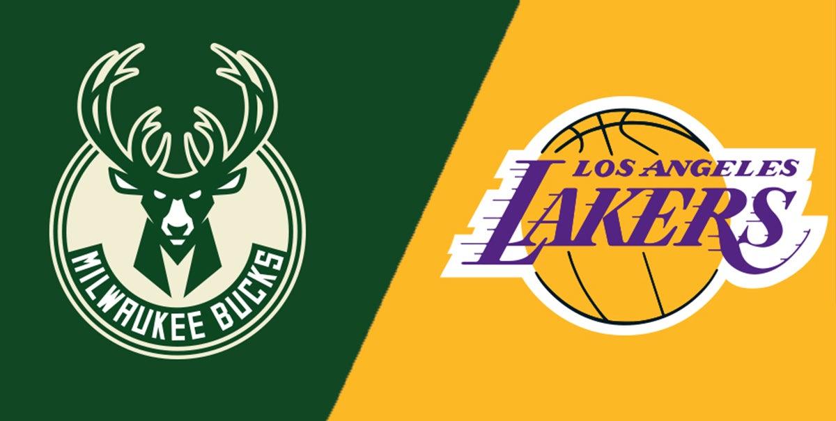 Resultado de imagen para Milwaukee Bucks vs Los Angeles Lakers