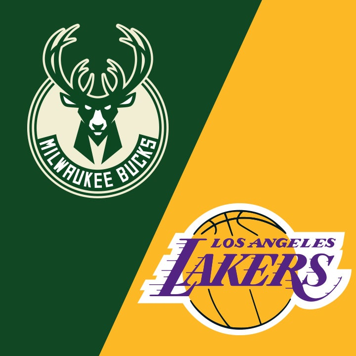 More Info for Milwaukee Bucks vs. Los Angeles Lakers