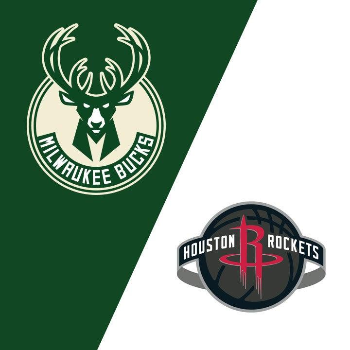 More Info for Milwaukee Bucks vs. Houston Rockets