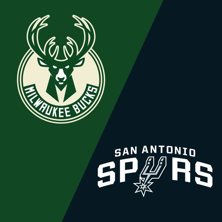 More Info for Milwaukee Bucks vs. San Antonio Spurs