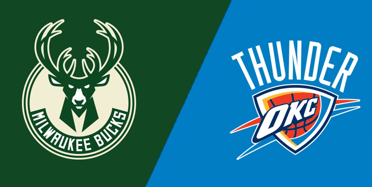 Image result for THUNDER VS BUCKS LOGO