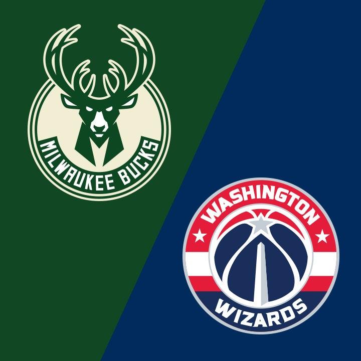 More Info for Milwaukee Bucks vs. Washington Wizards