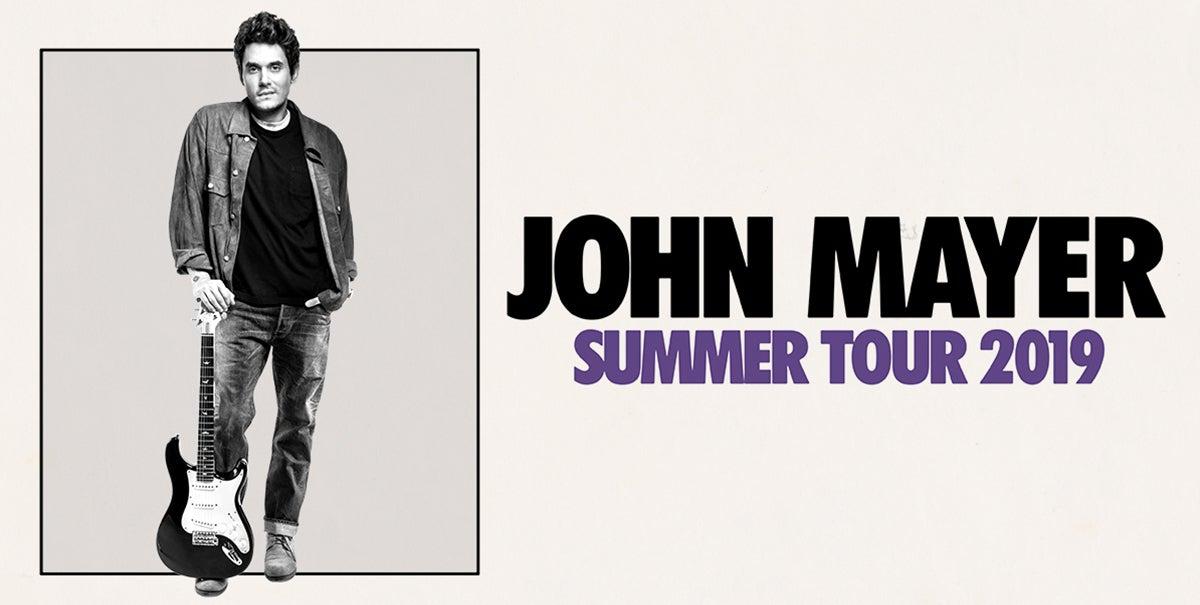 John Mayer Summer Tour 2020 John Mayer | Fiserv Forum