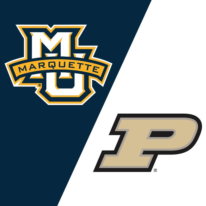 More Info for Marquette vs Purdue