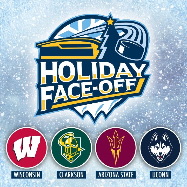 More Info for CANCELLED - Holiday Face-Off College Hockey Tournament