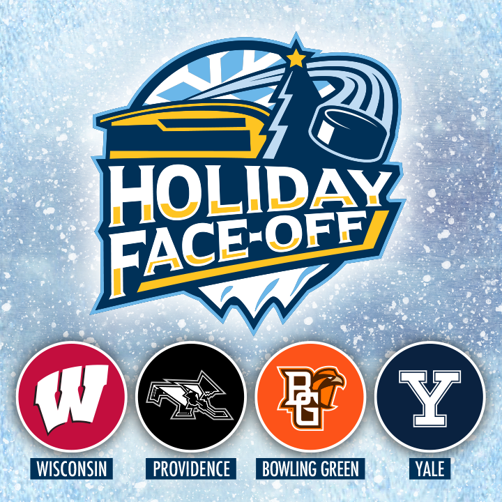 More Info for Holiday Face-Off College Hockey Tournament
