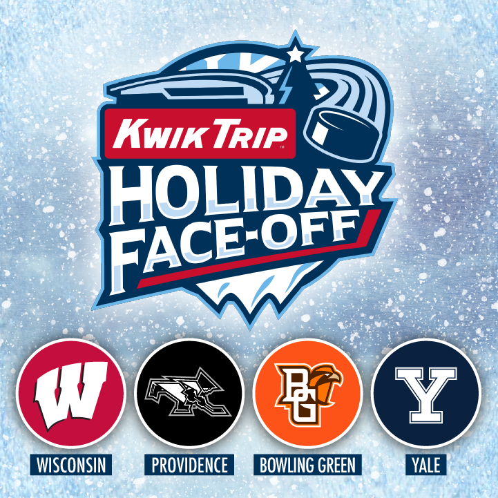 More Info for Kwik Trip Holiday Face-Off College Hockey Tournament