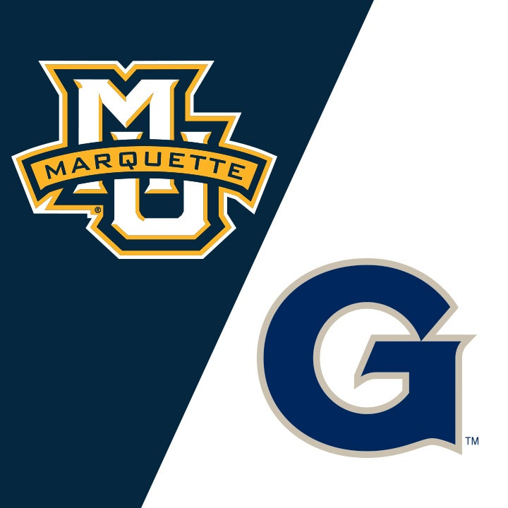 More Info for Marquette University vs Georgetown University