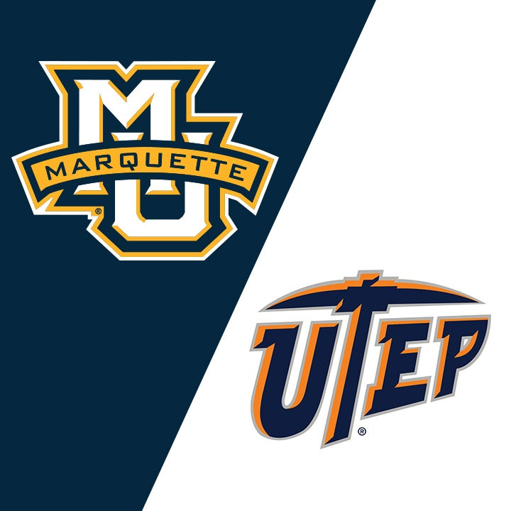 More Info for Marquette University vs University of Texas at El Paso