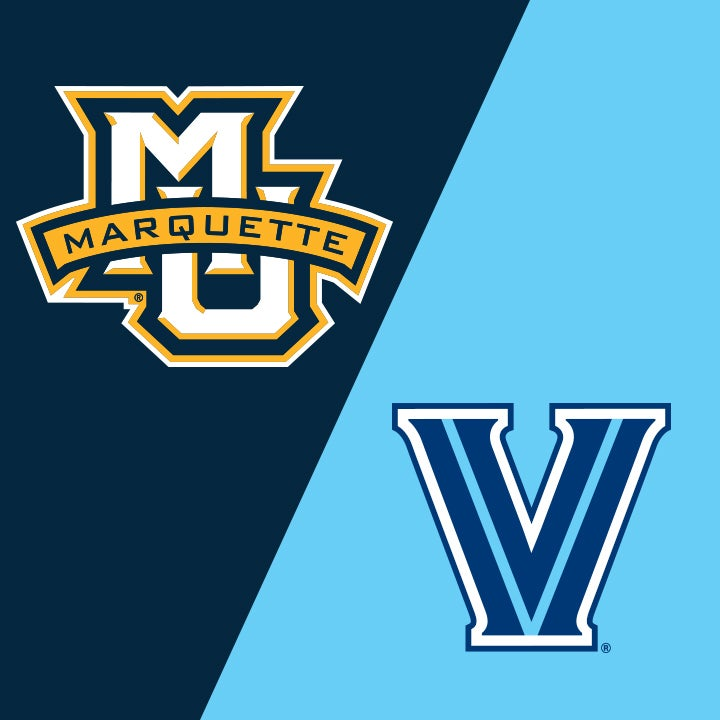 More Info for Marquette University vs Villanova University