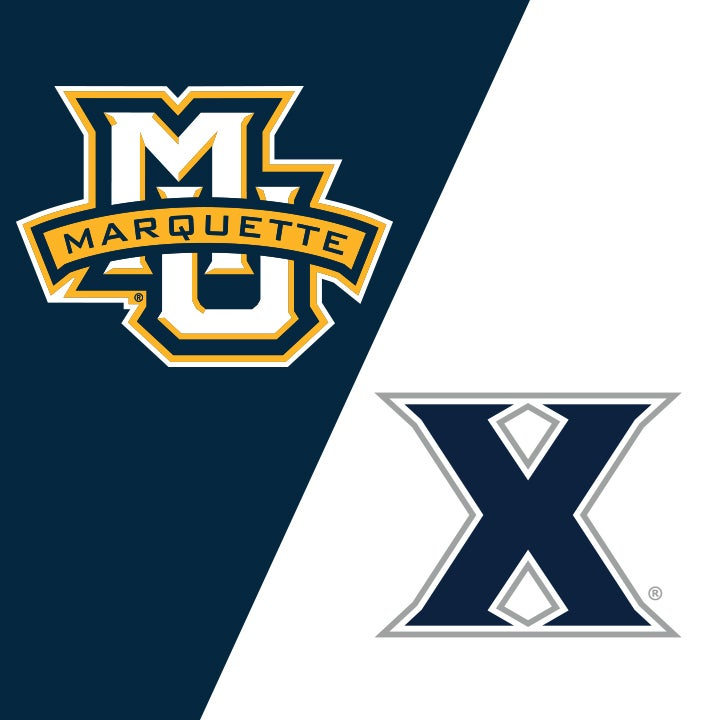 More Info for Marquette University vs Xavier University
