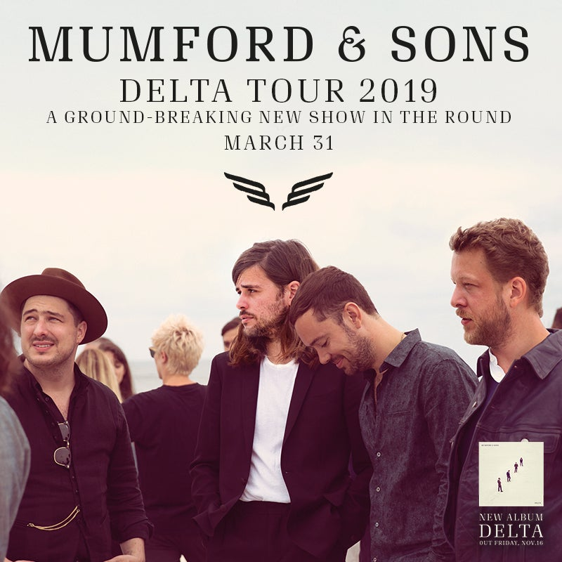 More Info for Mumford & Sons to Perform at Fiserv Forum on March 31, 2019