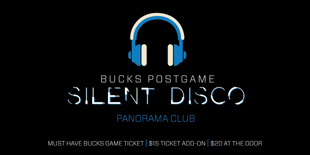 More Info for Fans Invited to Stay After Bucks Home Opener for Silent Disco at Fiserv Forum