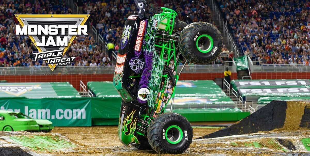 Monster Jam Coming to Fiserv Forum From Jan  18-19, 2019