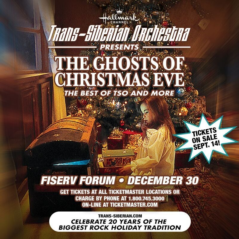 More Info for Trans-Siberian Orchestra Presents 'Ghosts of Christmas Eve' Coming to Fiserv Forum on Dec. 30