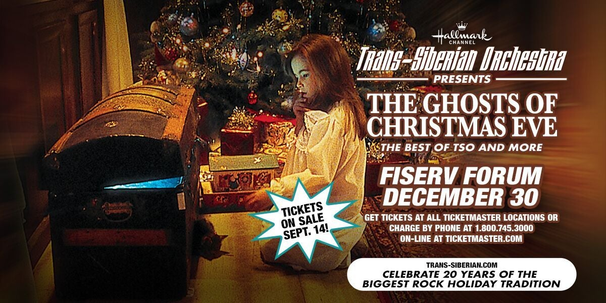 Trans-Siberian Orchestra Presents \'Ghosts of Christmas Eve\' Coming ...